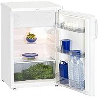 Exquisit KS 15-5A-frigo Estate, indipendente, colore: bianco, diritto, 105L ST, 42 Db)