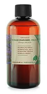 Olio di Semi di Borragine Vergine - Olio Vettore Puro al 100% - 100ml
