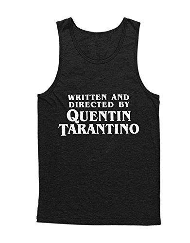 Hypeshirt Tank-Top Written and Directed by Quentin Tarantino C123456 Schwarz L