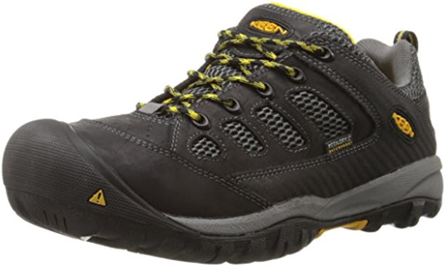 Keen Utility Men's Tucson Low M Work Boot  Black/Gargoyle  11 D US