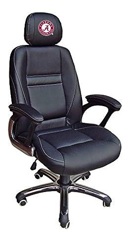 NCAA Alabama Crimson Tide Leather Office Chair