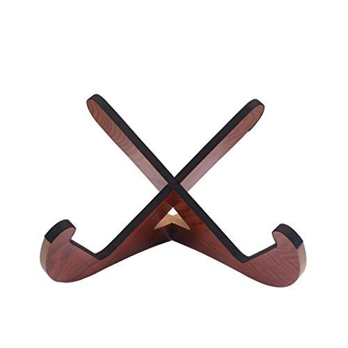 Sharplace Holz Halter Gitarrenständer Universal (Holz-gitarrenständer)
