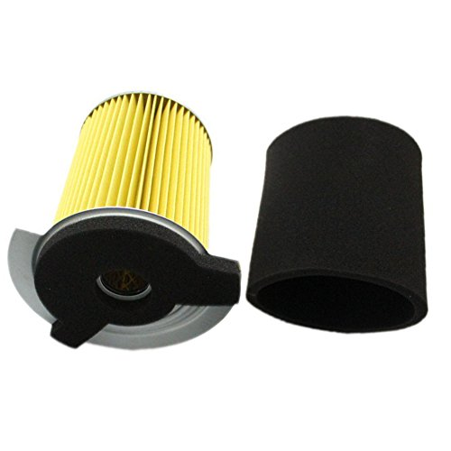 Air Filter Pre-cleaner (OxoxO JF7-14450-01 J10-14417-00 Air Filter With Pre Filter For Yamaha G1 2 Cycle 1978-1989 and Gas Golf Cart G14 4 Cycle Gas 1995-1996)
