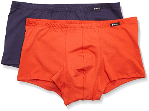 Skiny Herren Retroshorts Advantage Pant Dp, 2er Pack red selection