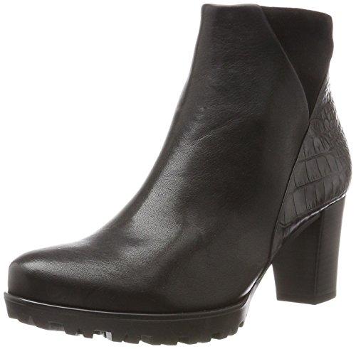 Gabor Shoes Damen Comfort Sport Stiefel, Schwarz (17 Schwarz (Micro)), 37 EU