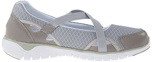 Propet Travellite Mary Jane étroit Synthétique Mary Janes silver