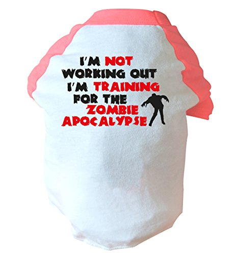 I'm not working out I'm training for the zombie apocalypse