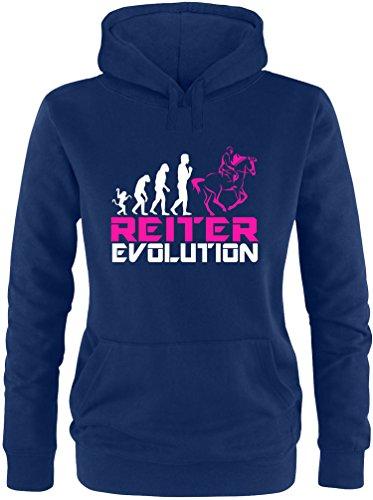 EZYshirt® Reiter Evolution Damen Hoodie