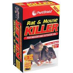 PestShield Rat et souris tueur 400g