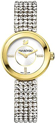 Swarovski Women's Silver Dial Stainless Steel Band Watch - 1194086, Analog Dis