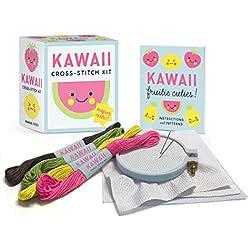 Kawaii Cross-Stitch Kit: Super Cute! (Miniature Editions)