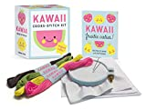 Kawaii Cross-Stitch Kit: Super-Cute! (Miniature Editions)