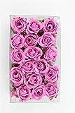 Unbekannt 36 Streurosen Rosenköpfe in pink künstlich