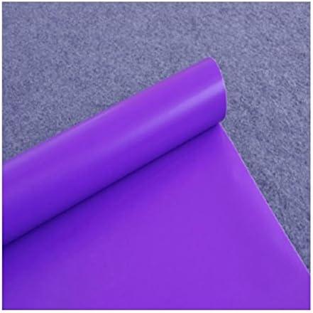 RFGTYBDD Adorable Papier peint de couleur Pure Style simple pour pour pour Wall Art Sticker Decor (Violet) B07GRTKYQB | Soldes  51bd88