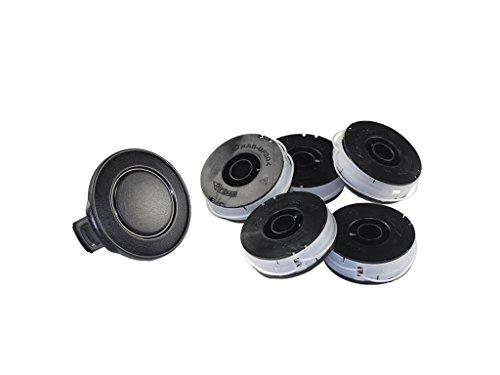 5x Spule passend für Einhell RG ET 5531 + RG ET 7535 +RT 5030 + RT 3110 + ET 500/30, Einhell Blue Line BG-ET 5030 Fadenspule Ersatzspule Trimmerspule Elekro Rasentrimmer
