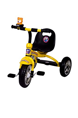 HLX-NMC KIDS TRICYCLE RACING YELLOW  available at amazon for Rs.1800