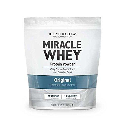 Dr Mercola Poudre De Proteine De Lactoserum Miracle Original 1 Lb 454 G