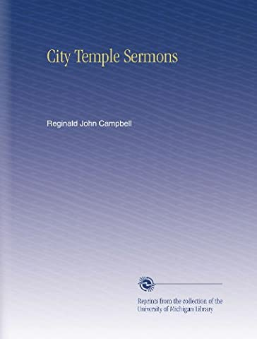 City Temple Sermons