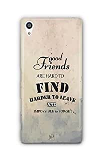 YuBingo Good Friends are Hard to Find Mobile Case Back Cover for Sony Xperia Z5 Plus