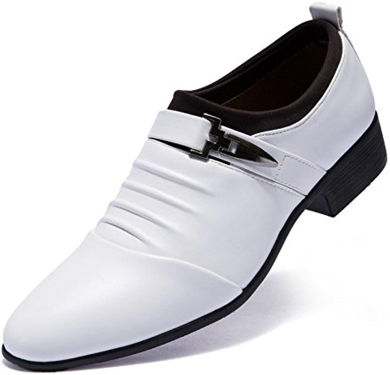 Koyi Tipps Herrenschuhe Frühling Neue Casual Lederschuhe Männlich Britischen Hochzeit Formale Business Schuhe