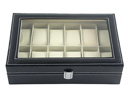 doubleblack-faux-leather-12-slot-watch-box-display-case-jewelry-organizer-storage