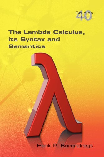 The Lambda Calculus. Its Syntax and Semantics Cover Image
