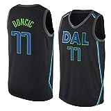 Hombre Ropa de Baloncesto NBA Dallas Mavericks 77 Doncic Jersey Camiseta de Baloncesto da Bordado