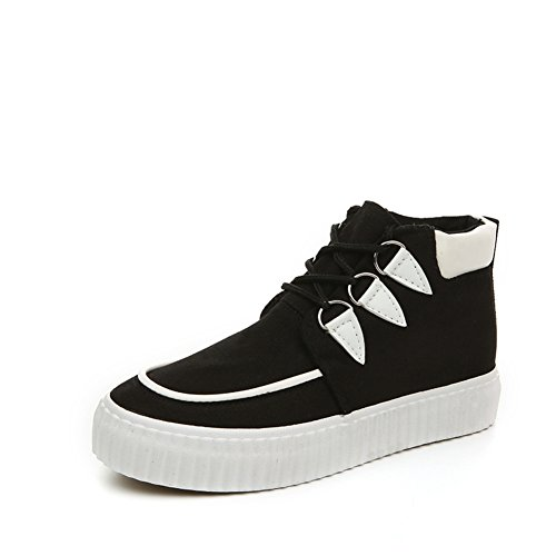 Estate fondo piatto Hi sneakers/Scarpe casual pizzo A