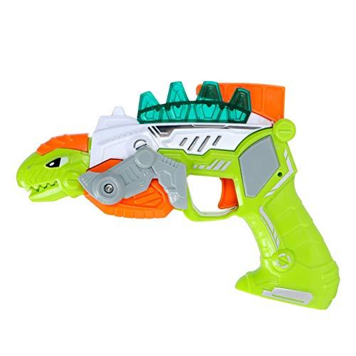 Hanbaili Dinosaurio Acústico-Óptico Modelo de Dinosaurio Divertido Juguete de Plástico Divertido Dormitorio de Música