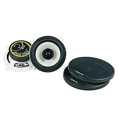 Bass Face SPL5.1 500W 5.25 inch Coaxial Car Speakers Pair