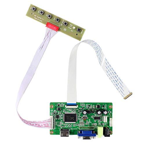 HDMI VGA Controller Board Kit LCD Treiber Board Für 11,6 '' 13,3 '' 14 '' 15,6 '' 1920x1080 30Pins Edp LCD Bildschirm Vga Lcd-controller