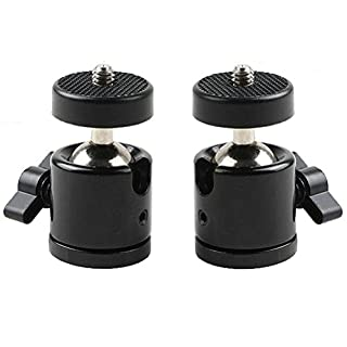 Agemore 360 Degree Swivel Mini Tripod Ball Head with 1/4