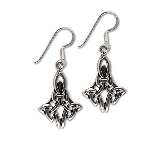 "etNox - argento orecchini ""Celtic Knot"" (O907)"