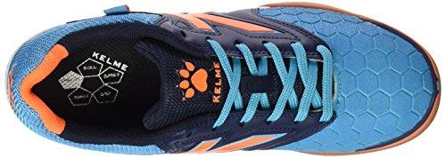 Kelme Feline 3.0, Chaussures de Football en Salle Homme Multicolore - Turquesa / Marino