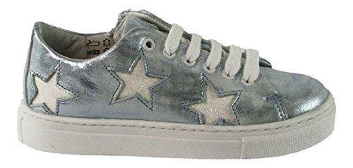 HIP , Chaussures de ville à lacets pour fille bleu bleu Bleu