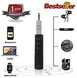 VOSAVO BT450 Wireless Bluetooth Receiver 3.5mm Jack Stereo Bluetooth Audio Music Receiver Adapter