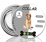 Cypin Flea and Tick Collar for Dogs, 8 Months Effective Protection Waterproof Dog