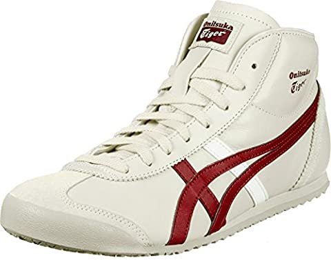 Onitsuka Tiger Mexico Mid Runner chaussures birch/burgundy