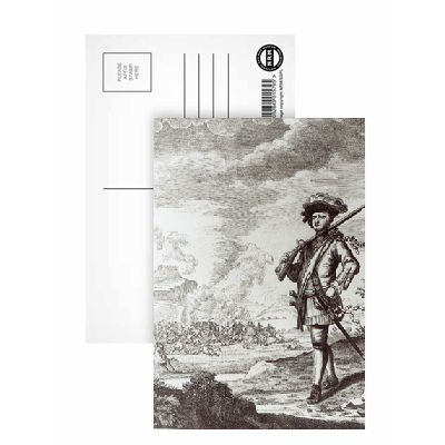 captain-henry-morgan-at-the-sack-of-panama-postcard-pack-of-8-6x4-inch-art247-highest-quality-standa