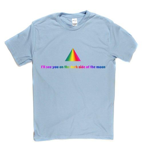 Dark Side Of The Moon Legendary Track Song Title T-shirt Himmelblau