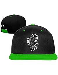 Xukmefat Dolphins2-1 Unisex Hip-Hop Flat Brim Snapback Caps Gorra de  béisbol Ajustable para Mujeres… 14b6e8cd692