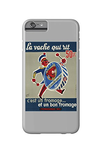 la-vache-qui-rit-drummer-vintage-poster-artist-baille-france-c-1950-iphone-6-plus-cell-phone-case-sl
