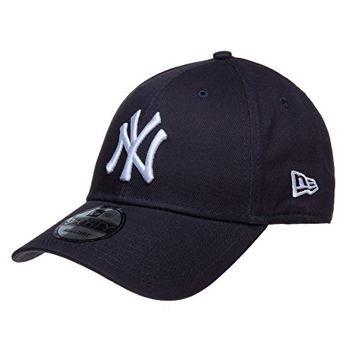New Era MLB Basic NY Yankees 9FORTY Adjustable Navy Casquette Homme, Marine, FR Fabricant : Taille Uniqu