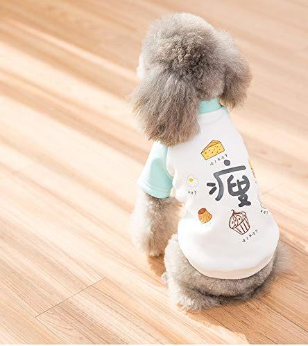 Bear Cute Dog Teddy Kostüm - lipanpan 2019 New Dog Clothes Spring and Summer Clothing New Teddy Ratio Bear Small Dog Cartoon Cute Pet Wardrobe