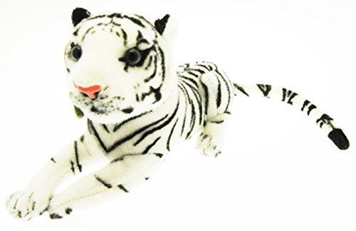 Peluche Tigre Bianca morbida Felino 35 cm Panthera Tigris Nature & Co.