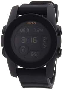 Nixon Men's Quartz Watch The Unit 40 A490001-00 with Rubber Strap