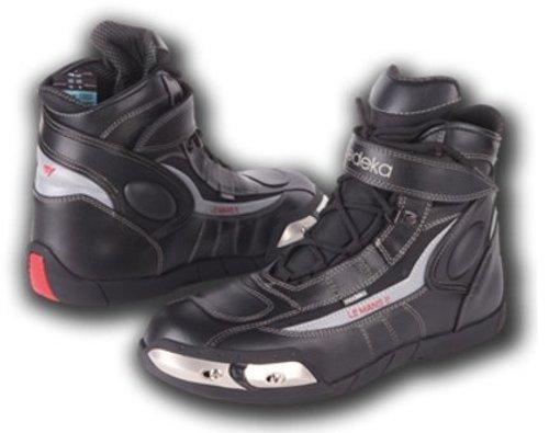 Modeka LE MANS 2 Motorradstiefel Leder - schwarz Größe 43