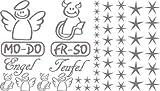 Autoaufkleber Sticker Aufkleber Set für Auto Schriftzug Engel Mo-Do Fr-So Teufe (090 silbergrau)