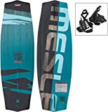 MESLE Wakeboard Liberty 128 cm Onset Package, Kinder/Jugend Board mit Bindung