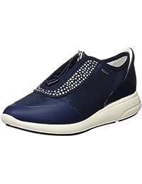 Amazon.it  Geox - Blu   Sneaker   Scarpe da donna  Scarpe e borse 5867b12f979